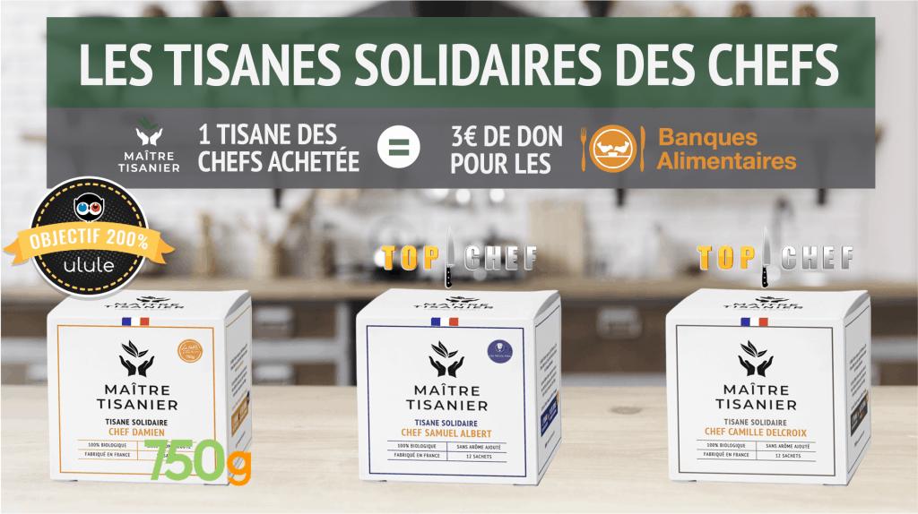 Tisanes solidaires des chefs maitre tisanier