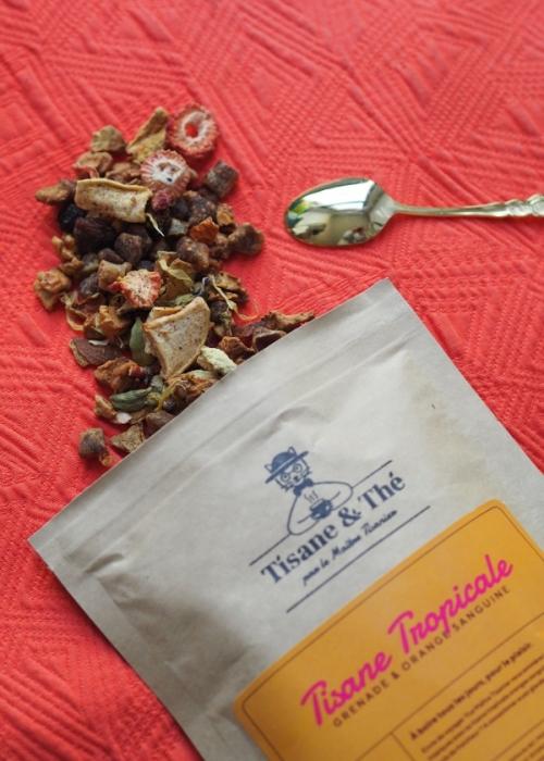 Tisane tropicale bio tisane & thé maitre tisanier