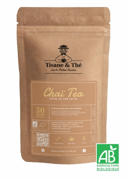 Chai tea thé chai thé latte tisane & thé maitre tisanier